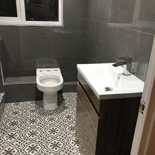 Bathroom Redesign Step 4